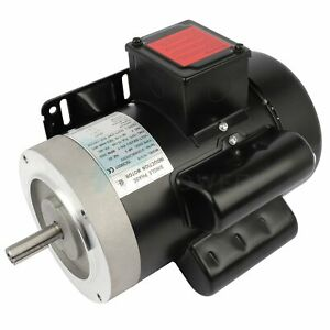 3hp Electric Motor For Air Compressor Single Phase 3450rpm 60hz 208 230v