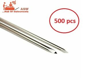 Orthopedic K Wire Double Ended K Wire 500 Pcs Stainless Steel Free Shipping