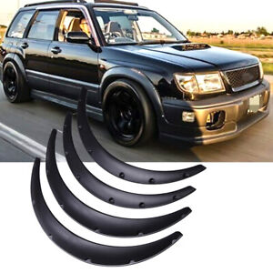 For Subaru Forester 4 5 Car Truck Cover Extra Wide Body Kit Wheel Fender Flares