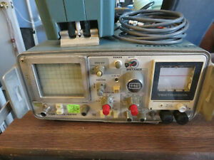 Tektronix 1503 Tdr Time Domain Reflectometer Cable Tester W Chart Recorder
