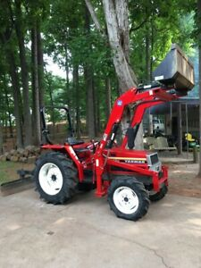 Yanmar Fx32d Tractor With Loader