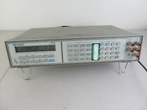 Hp 3457a Digital Multimeter Bench Top Dmm Tested Working