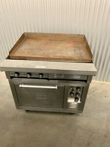 Lang Electric Range With Griddle 36s 10
