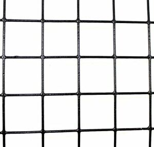 2 X 100 14 Gauge Welded Wire Pvc Coated 1 5 X 1 5 Fence Mesh Animal Fencing