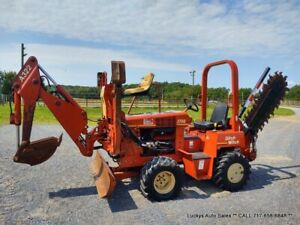 Ditch Witch 3700 Trencher A322 Backhoe Duetz 45hp H311 4wd Low Hours 361hr