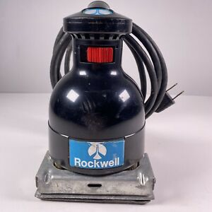 Rockwell Speed bloc Model 4480 Commercial Hand Sander Made In Usa