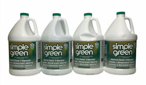 4 pk Simple Green Industrial Cleaner Degreaser 1 Gallon 2710200613005