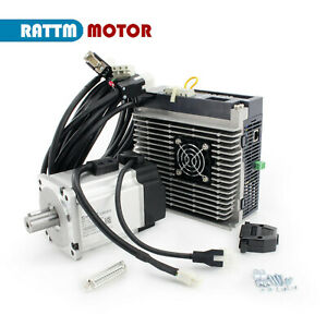 750w 1kw 1 5kw Ac Servo Motor driver Controller Kit encoder Cable 220v For Cnc
