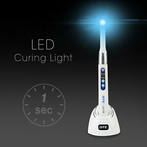Woodpecker Dte Dental Iled Plus Max 1 Second Curing Light Lamp 2600 Mw cm2