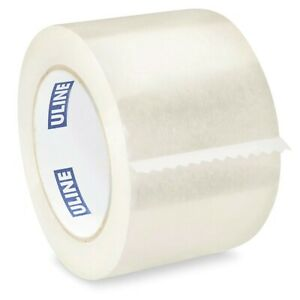 Uline Industrial Shipping Tape S 445 3 X 110yds 2mil 24 Rolls