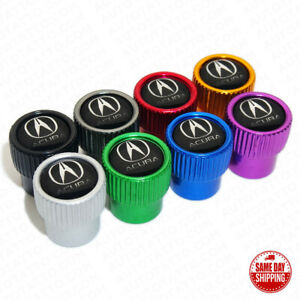 For Acura Sport Car Wheels Tire Air Valve Caps Stem Dust Cover Gift Decoration