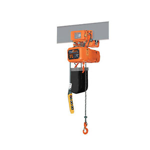 Prowinch 1 Ton Electric Chain Hoist With Electric Trolley 20ft Lifting Height G8