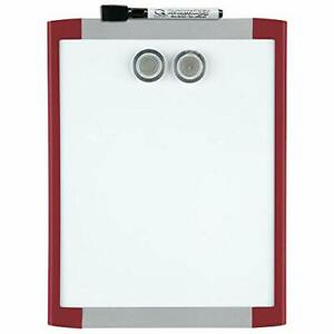 Magnetic Whiteboard White Board For Wall Dry Erase Board For 8 1 2 X 11 Red