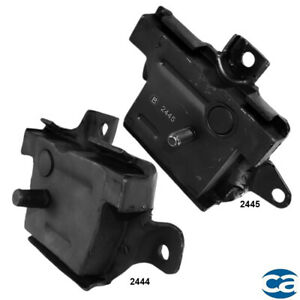 Front Right Left Engine Motor Mounts 2pcs Set For Ford F 150 F 250 F 350