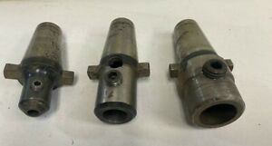 Lot Of 3 Universal Kwik Switch End Mill Tool Holders 3 8 7 8 1 0