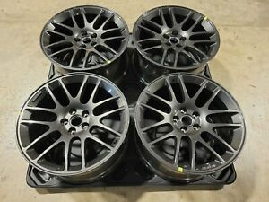 4 New Roush Mustang Paladium Grey Wheels Fit 2015 2021 Mustangs 20x9 5 Forged