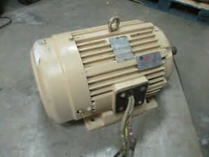 Louis Allis Pacemaker Ac Motor 519304re2 30hp 3600rpm 286ts Frame Used