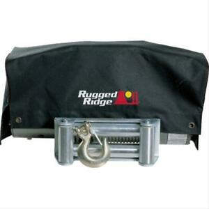 Omix Ada Rugged Ridge Winch Cover For 8500 10500 12500 Ibs Winches 15102 02
