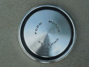 Ford Motor Company Dog Dish Poverty Hubcap Hub Cap Wheel Cover 10 1 2 Vintage