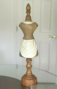 Tabletop Mini Dress Form Mannequin 22 5 Inch Total Height