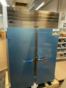 New Traulsen G20010 G Series Two Section Reach In Refrigerator