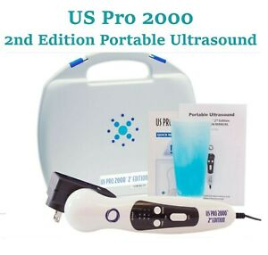 Us Pro 2000 2nd Edition Portable Ultrasound Therapy Unit Pre warming Sound Head