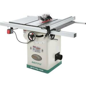 Grizzly G0771z 10 2 Hp 120v Hybrid Table Saw With T shaped Fence