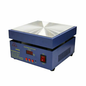 200x200mm 946c 110v 850w Hot Plate Preheat Preheating Desoldering Station For Pc