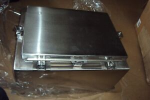 Wiegmann Ssn4161208 Electric Control Panel Enclosure Box Stainless