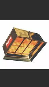 Dayton Commercial Infrared Heater 120vac 3e134 New