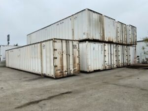 53 Foot Shipping Container Freight Ready