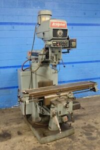 Bridgeport Series Ii Bridgeport Series Ii Vertical Mill 11 X 58 Table 082