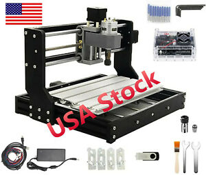 In Usupgraded 3018 Pro Cnc Router Engraving Laser Machine Milling Cutting Wood