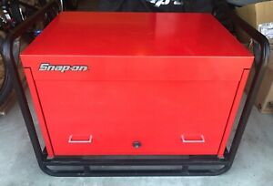 Snap On Heavy Duty 36 Road Chest With Cage And Cover Local Pickup Only