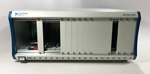 National Instruments Ni Pxie 1075 Pxi Chassis 18 Slots Parts repair Power Issue