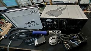 Pace Prc2000 Rework Station Irons foot Pedal Tips And Manual