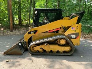 2013 Caterpillar 259b3 Track Skid Steer Only 103 Hours Cab Heat Ac 2 Speed