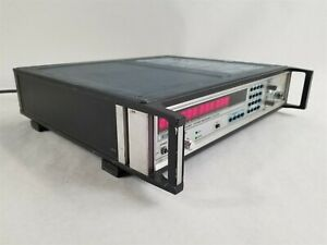 Eip 575 Ccn 1802 Benchtop Source Locking Cw Microwave Frequency Counter System