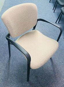 Haworth Improv Seating Stackable Beige Office Chairs