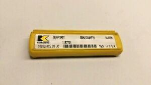 Kennametal Sehw1204aftn Indexable Inserts For Chamfer Mill pack Of 4 1157791