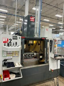 2011 Haas Vf2 Good Condition 30k Rpm High Speed 4th 5th Axis