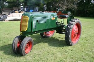 1941 Collectible Antique Oliver 60 Tractor Gas 4 1 Speed 2wd 18hp 1 3 8 Pto