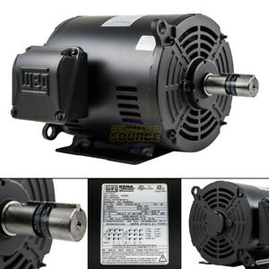 10 Hp 3 Phase Electric Motor Air Compressor Duty 213 215t Frame 1770 Rpm 3ph