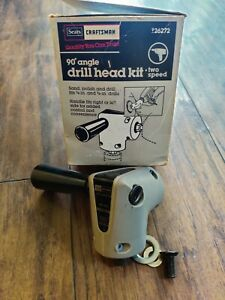 Sears Craftsman Right Angle Drill Adapter 26271 3 8 90 2 Speed