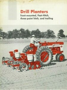 Ih Mccormick Drill Planters Brochure Front Mounted Fast Hitch 3pt Farmall