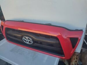 2005 2006 2007 2008 2009 2010 2011 Toyota Tacoma Grille Grill Red Oem