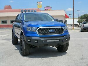 New Steelcraft Fortis Smooth Steel Front Bumper 2019 2020 2021 Ford Ranger