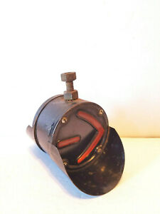 Vintage Grote Hooded Two Sided Turn Arrow Signal Amber Lens L3