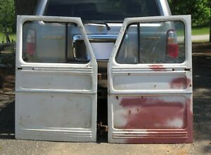 Willys Pickup Truck Doors Set Of 2 Willy S Jeep Overland Truck Wagon
