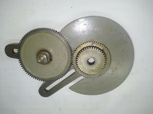 Banjo Bracket And Gears For 9 And Light 10 South Bend Lathe price Reduced